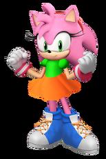 Amy the Pink Hedgehog