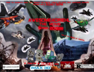 The poster real d 3d logo