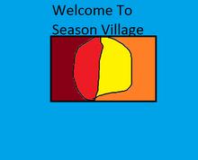 Season Village Flag