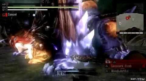Gods Eater Burst DLC - Beauty's End Solo 3 24 SSS+