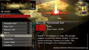 R9 Nocturnal Axe