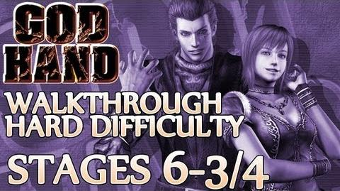 ★ God Hand Walkthrough ▪ Hard Mode - Stage 6-3 6-4