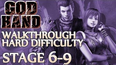 ★ God Hand Walkthrough ▪ Hard Mode - Stage 6-9 ▪ Demon Shannon Boss Fight