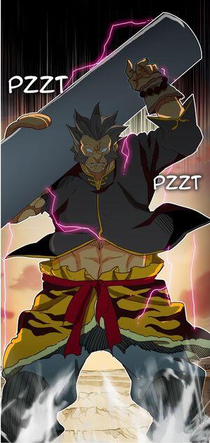 Subject M after taking Mo-Ri Hui's powers