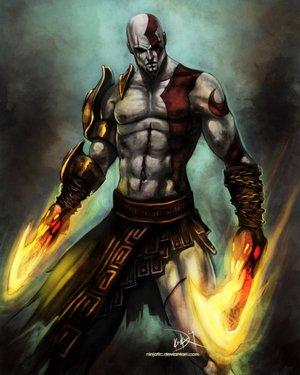 File:Kratos God Of War by Ninjatic.jpg