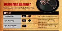 Barbarian Hammer