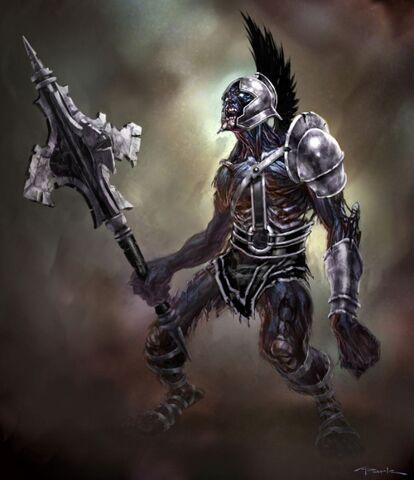 File:God of war iii conceptart club Sentry.jpg