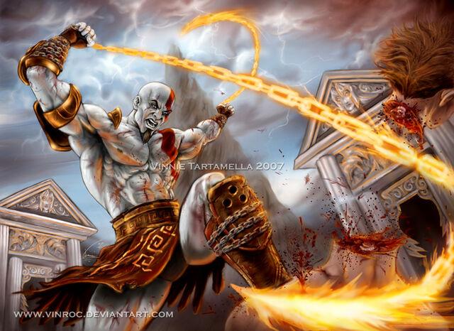 File:God of war 2 the Return by VinRoc.jpg