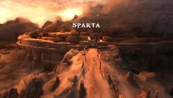 City of Sparta -Ghost of Sparta- PSP-