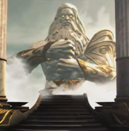 Zeus statue