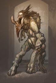 Callisto Beast Form