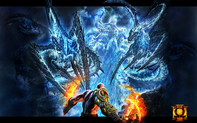 File:Kratos vs Poseidon by Rex1623.png