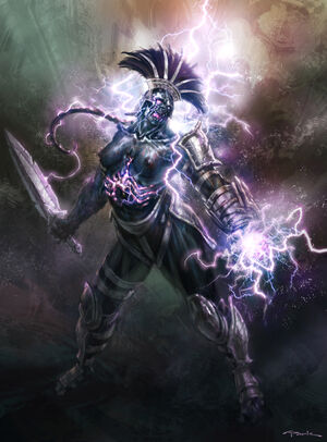 Démon Olympien GOW III