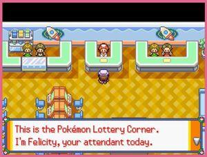 Lottery Corner