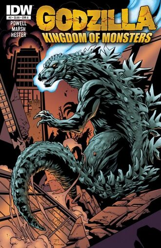 KINGDOM OF MONSTERS Issue 2 CVR A