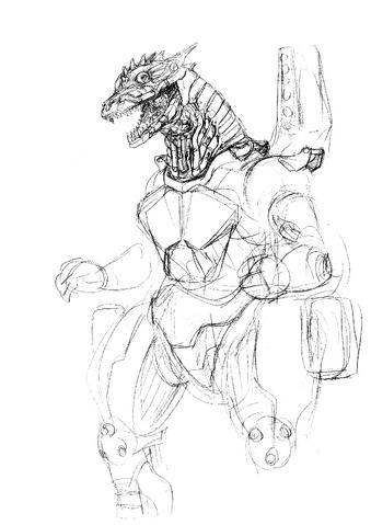 File:Concept Art - Godzilla Against MechaGodzilla - Kiryu 45.png