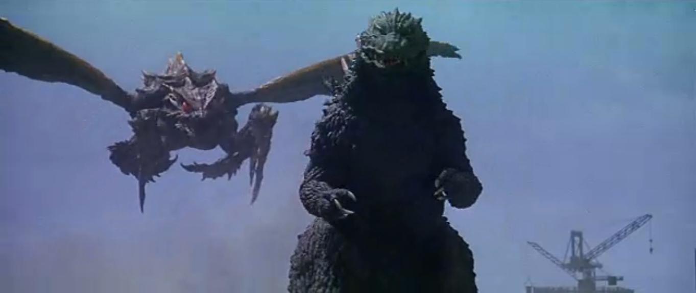 Image - Godzilla vs. Megaguirus - Megaguirus flies behind ...