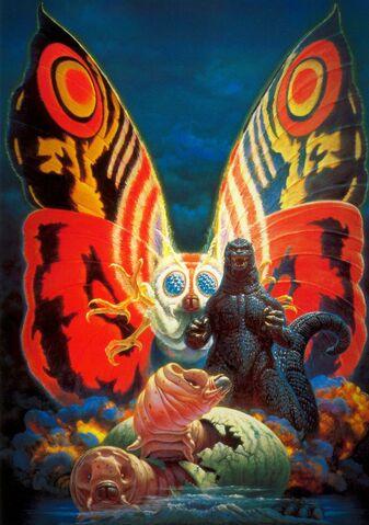 File:Godzilla vs. Mothra Poster Textless.jpg