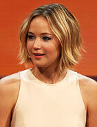 Jennifer Lawrence at 214. Wetten, dass.. - show in Graz, 8. Nov. 2014 cropped