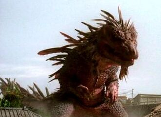 Zedus in Gamera: The Brave (click to enlarge)