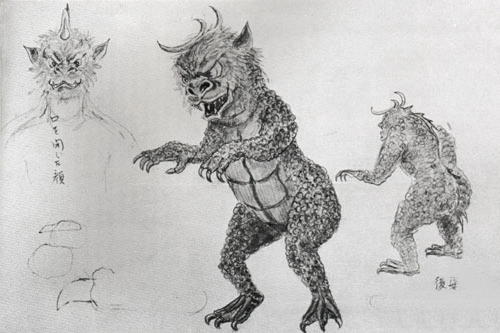 File:Concept Art - All Monsters Attack - Gabara.png