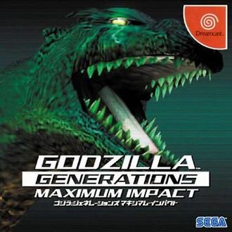 Godzilla Generations Maximum Impact