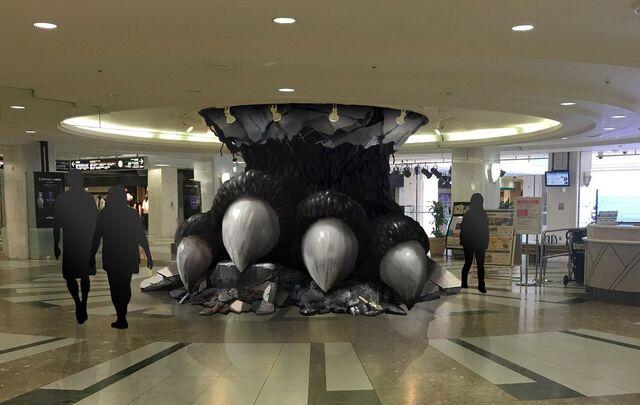 File:Godzilla foot apsmashign ceiling.jpeg