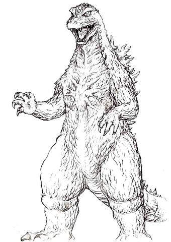 File:Concept Art - Godzilla Tokyo SOS - Godzilla 1.png
