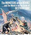 Destroy All Monsters Poster United States 4
