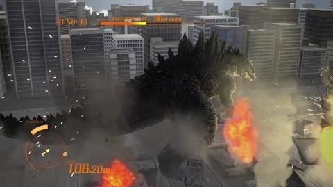 PS3「ゴジラ-GODZILLA-」GODZILLA 2014 /キャラクターデモ映像