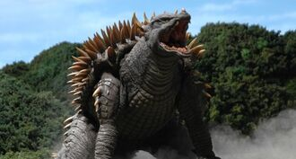 Anguirus in Godzilla: Final Wars (click to enlarge)