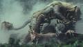 Godzilla Final Wars - 4-6 Godzilla's Allies in a Pile