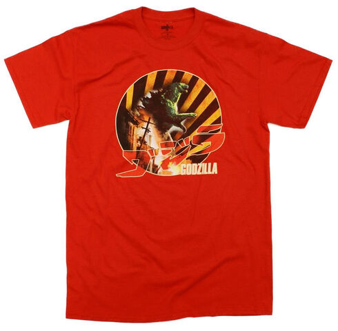 File:Godzilla 2014 Merchandise - Clothes - Burning Down Retro.jpg