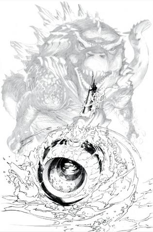 File:Concept Art - Awakening - Godzilla Behind USS Nautilus.png
