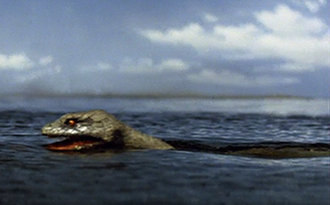 The Giant Sea Serpent as it is seen in King Kong Escapes (click to enlarge)