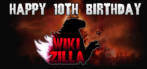 10th birthday Wikizilla