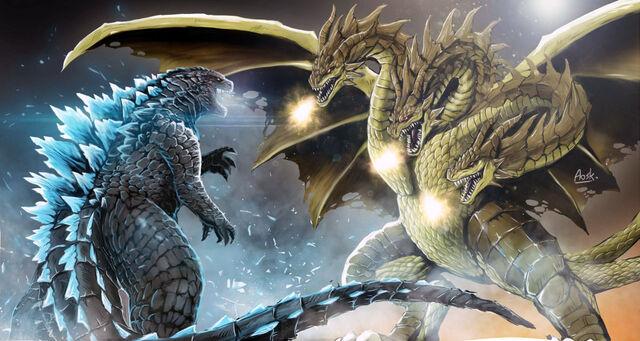 Datei:GODZILLA vs King Ghidorah 1.jpg