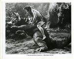 Baragon Fighting Frankenstein