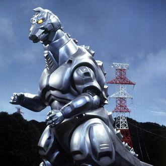 MechaGodzilla 2 en Godzilla vs. MechaGodzilla 2 (click to enlarge)