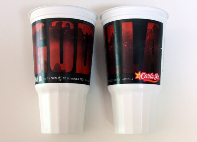 File:Carl's Jr Limited Edition Godzilla Cup.jpg