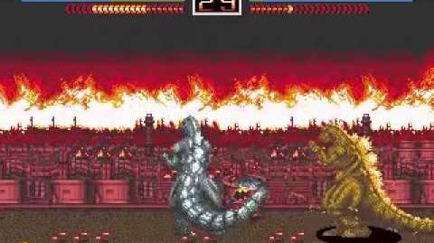 Godzilla The Arcade Game (Playthrough Pt
