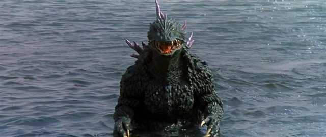 File:Godzilla vs. Megaguirus - Godzilla walks up there.png