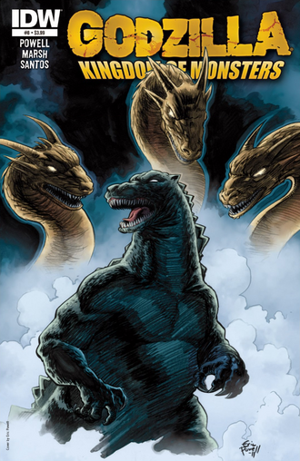 KINGDOM OF MONSTERS Issue 8 CVR A