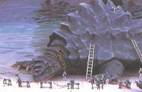 The TokyoKamo as it is seen in Godzilla; Tokyo S.O.S.
