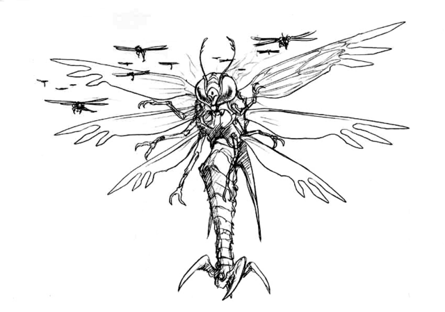 File:Concept Art - Godzilla vs. Megaguirus - Megaguirus 6.png