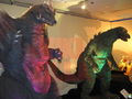 Suit and Puppet Museum - SpaceGodzilla and Godzilla Junior