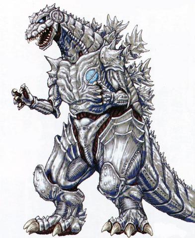 File:Concept Art - Godzilla Against MechaGodzilla - Kiryu 5.png