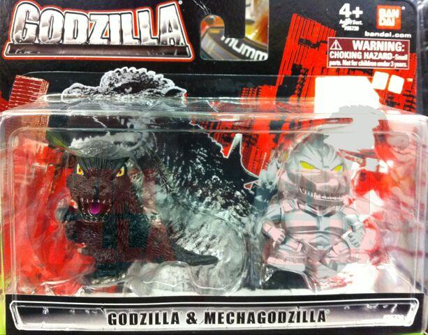 File:Bandai Chibi Figures - Godzilla and MechaGodzilla