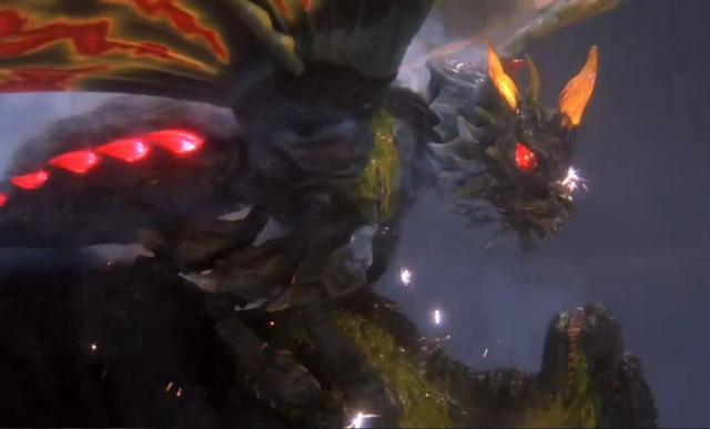 File:Godzilla And Mothra The Battle For Earth - - 4 - Battra is almost dead.png