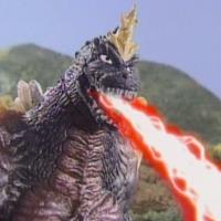 Super Special SpaceGodzilla High Grade Type 2 as it is seen in Godzilla Island